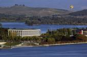 National Library of Australia - Canberra — Stock fotografie