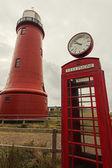 Lage vuurtoren van IJmuiden Lighthouse — Stock Photo