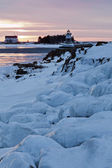 Grand Marais Lighthouse — Stock Photo
