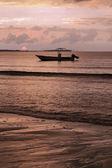 Fiji sunset — Stock Photo