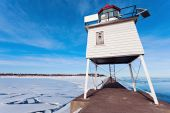 Two Harbors Breakwater Lighthouse — Stock Photo