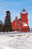 Two Harbors Lighthouse — Stock Photo
