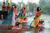 Jaipong танцоры — Стоковое фото