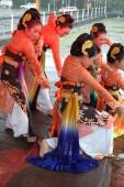 Jaipong dancers — Stock Photo