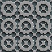 Seamless Lattice Pattern — Stock Vector