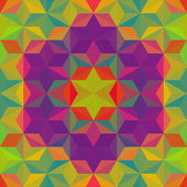 Colorful Triangle Pattern — Vector de stock