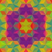 Colorful Triangle Pattern — ストックベクタ
