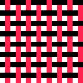 Seamless Intertwined Stripe Pattern — Stock Vector