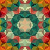 Modello astratto mosaico — Vettoriale Stock