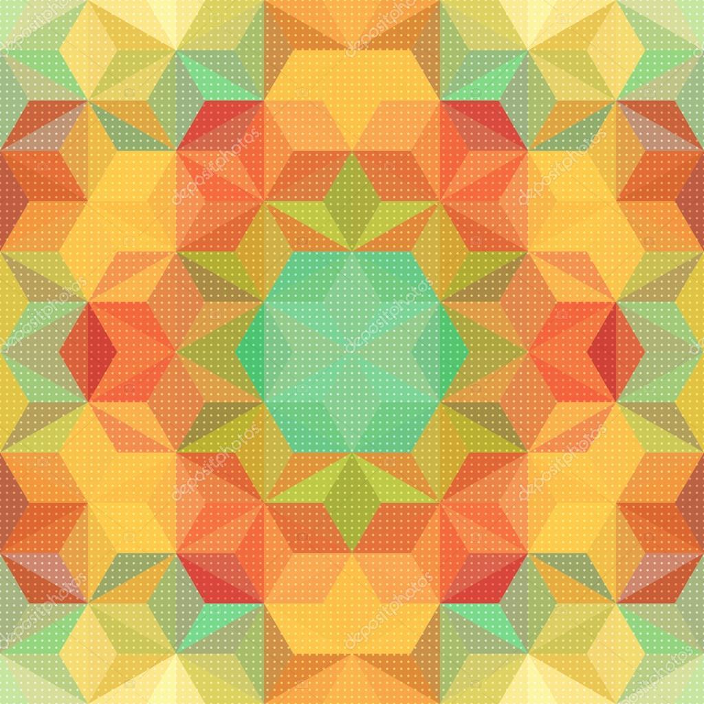 抽象的马赛克图案 — 图库矢量图像08