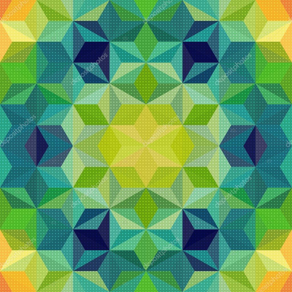 矢量抽象的马赛克图案或背景
