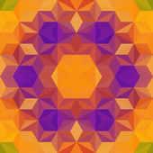 Abstract Mosaic Pattern — Stock Vector