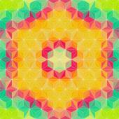 Bunte Dreieck Muster — Stockvektor