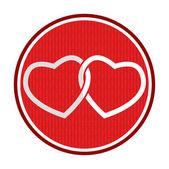 Aşkın simgesi — Stok Vektör