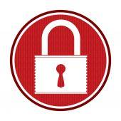 значок безопасности — Cтоковый вектор