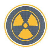 Radioactivity icon — Stock Vector