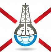 Anti Fracking Sign — Stock Vector