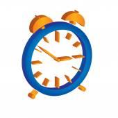 Alarm clock illustration — Stock Vector