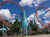 Roller Coster — Stock Photo
