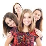 Happy teen girls — Stock Photo #52016339