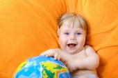 Happy baby — Stockfoto
