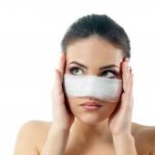 Woman beauty treatment — Stock Photo