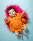Cute infant baby — Stock Photo