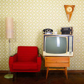 Vintage room — Stock Photo