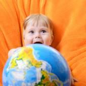 Mutlu bebek — Stok fotoğraf