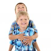 Two   little boys — Stock Photo