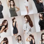 Fashion model set — Stock Photo