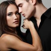 Sexy passion couple — Stock Photo