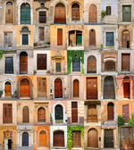Doors in Italy — Stock Photo