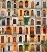 Doors in Italy — Stock Photo