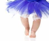 Ballet baby girl — Stock Photo