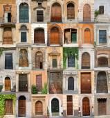 Doors in Rome — Stock Photo