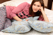Cheerful teen girl — Stock Photo