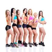 Ragazze fitness — Foto Stock