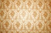 Vintage wallpaper with floral pattern — Stock Photo