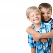 Two  little boys — Stock Photo