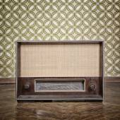 Vintage radio receiver — Stock Photo