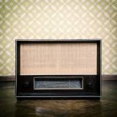 ビンテージ ラジオ受信機 — ストック写真