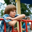 Boy playing on playground — Stock Photo #52020973