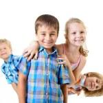 Happy smiling children — Stock Photo #52020991