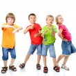 Happy children dancing — Stock Photo #52021013