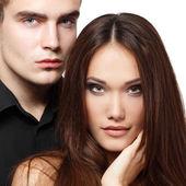 Casal paixão sensual — Foto Stock