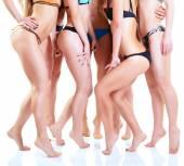 Girls in bikini — Stock Photo