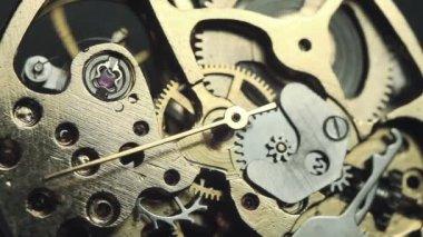 Watch mechanism — Stock Video