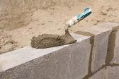 Wall Construction - 07 — Stock Photo