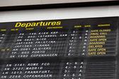 Terminal Info Board - 14 — 图库照片